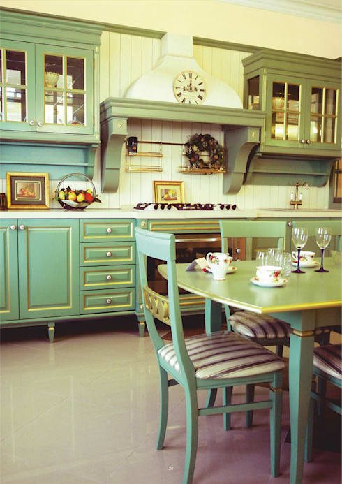 """""""Эйр"""": Кухня в . Автор – CARA hardwood"""