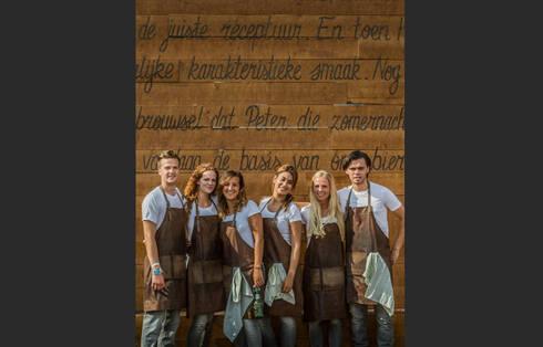 Grolsch | Brand Activation Zwarte Cross 2014:  Gastronomie door Studio Linda Franse