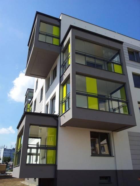 Eigentumswohnanlage Kutno - Polen:  Häuser von BIOTEC