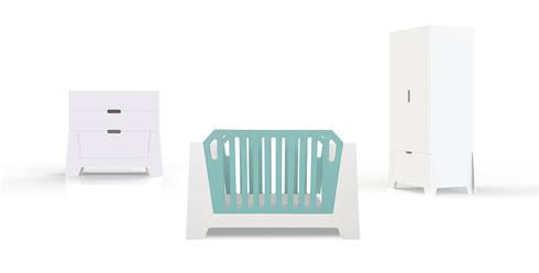 collectie  STERK: moderne Kinderkamer door ukkepuk meubels