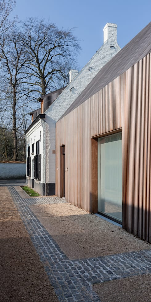 JACHTOPZIENERSWONING - SINT-DENIJS-WESTREM:   door Callebaut Architecten