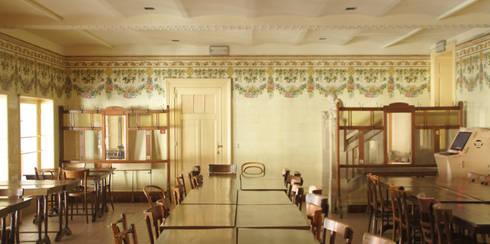 KUNSTENCENTRUM VOORUIT – GENT:   door Callebaut Architecten