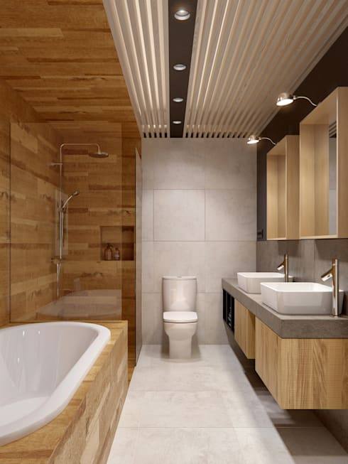 Bathroom by INT2architecture