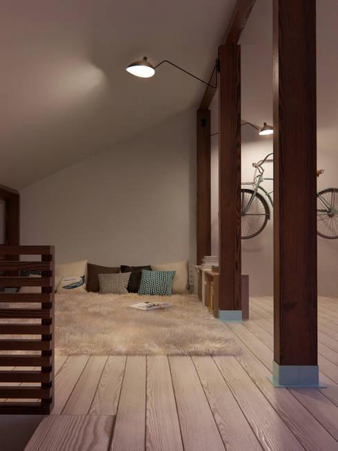 Интерьер OOD: Спальни в . Автор – INT2architecture