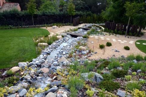 Jardin del estanque de la paisajista jardines con alma for Alma de jardin pacheco
