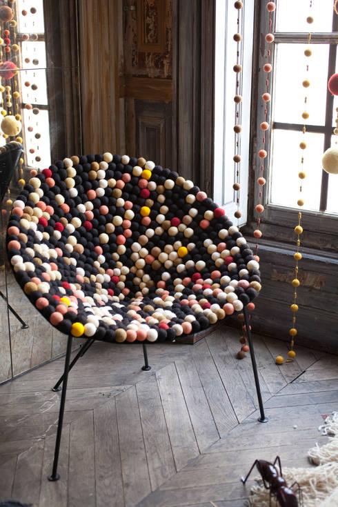 Fauteuil Moka: Salon de style de style eclectique par An Vert du Design