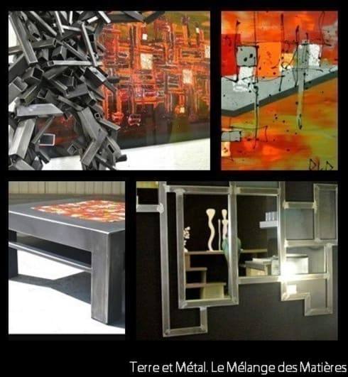de belles idees en acier di terre et metal homify. Black Bedroom Furniture Sets. Home Design Ideas