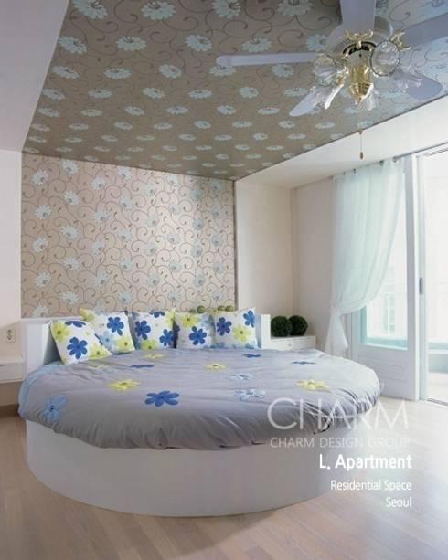가족을 위한 L 아파트: 참공간 디자인 연구소의  거실