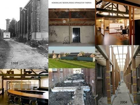 KNSF :  Kantoorgebouwen door Axel Grothausen BNI