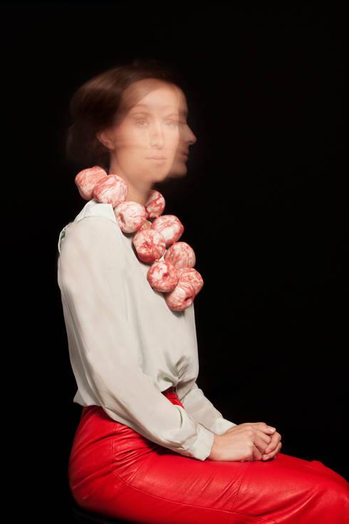 Appel collier:  Kunst  door Nina Sajet studio
