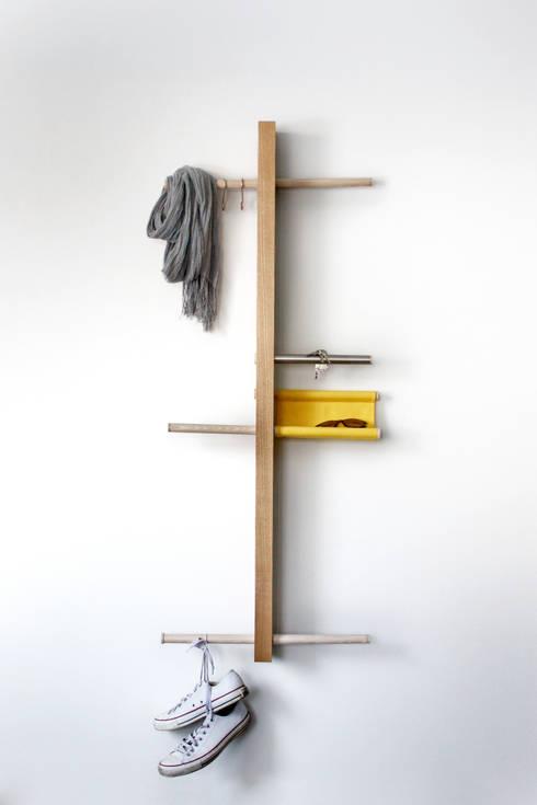 +MINUS: styl , w kategorii Garderoba zaprojektowany przez M+ DESIGN Marta Dolnicka Marchaj