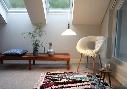 The large sized Lamp: moderne Eetkamer door Booo BV