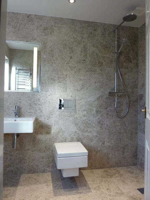 Silver Shadow Honed Marble By Floors Of Stone Ltd Homify