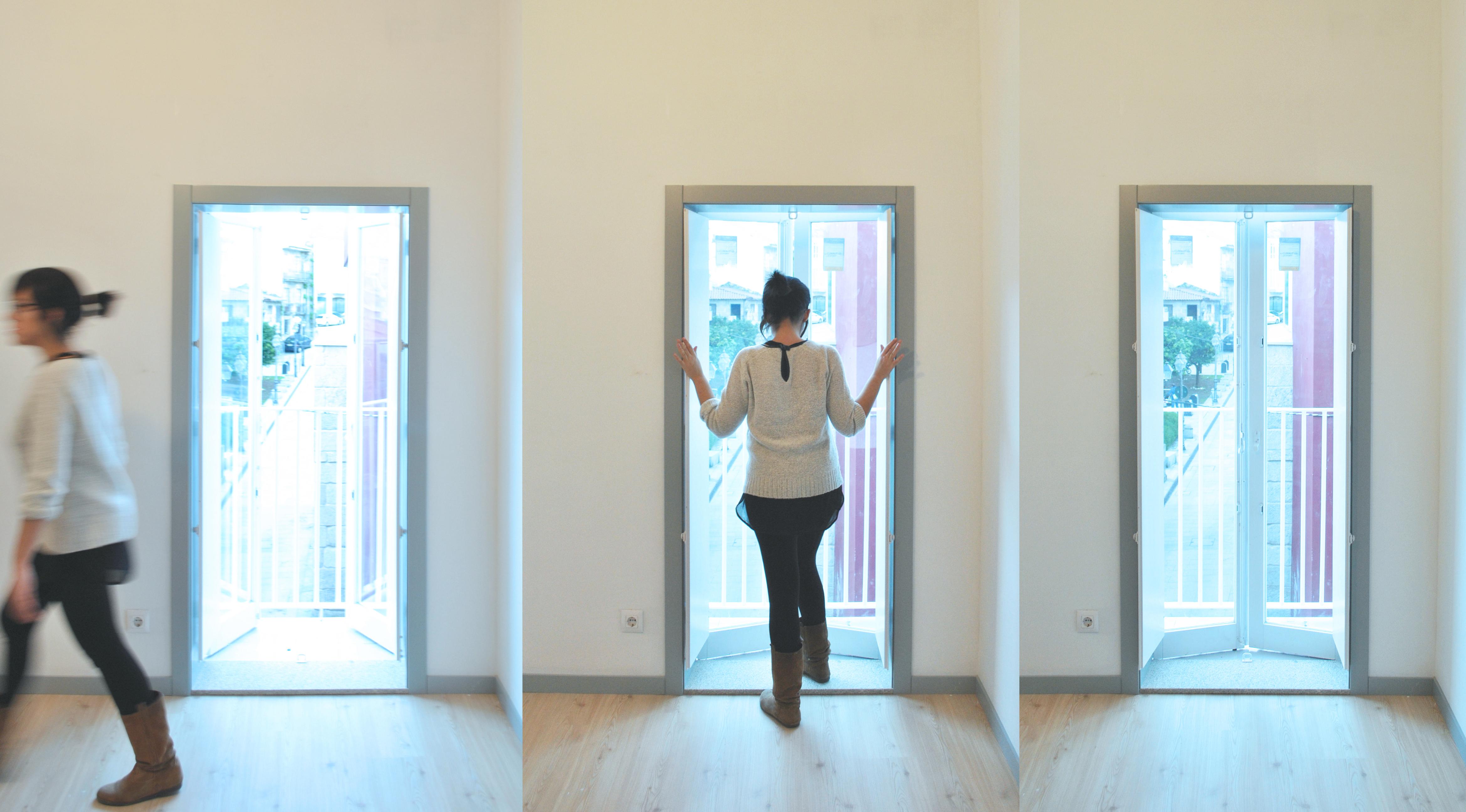 Huecos en fachada: Casas de estilo escandinavo de Estudio de Arquitectura Sra.Farnsworth