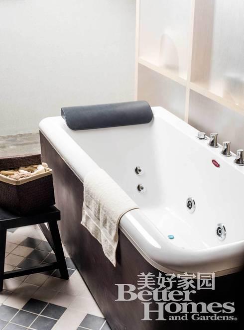 SPACE SHOW, Beijing, China: Baños de estilo mediterráneo de LATITUDE