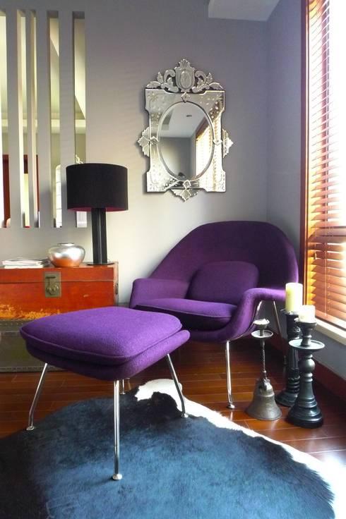 Wohnzimmer: ausgefallene Wohnzimmer von Hot Dog Decor Inneneinrichtung & Beratung