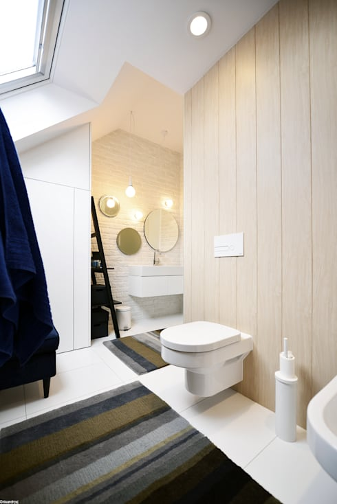scandinavian Bathroom by RTP Consulting Sp. z o.o.