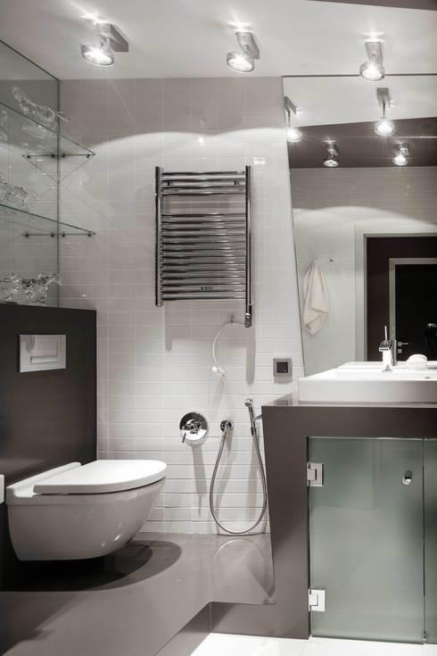 Квартира на Ленинградке: Ванные комнаты в . Автор – ARTRADAR ARCHITECTS