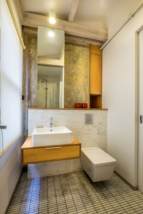 Atelye 70 Planners & Architects – Gabriel Apartment Bathroom:  tarz Banyo