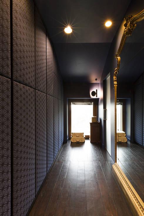 MG2 Architetture – Interior with terrace: Spogliatoio in stile  di mg2 architetture