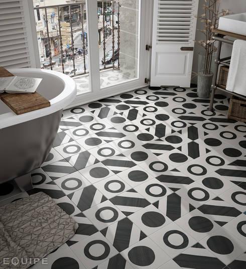 ausgefallene Badezimmer von Equipe Ceramicas