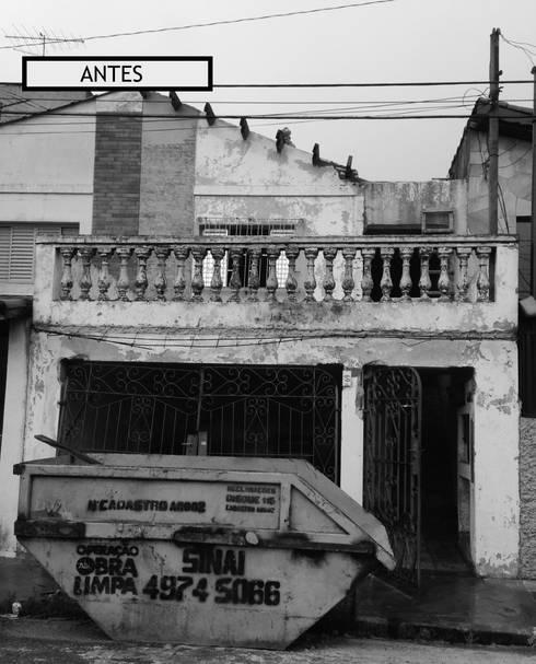 Antes:   por Natali de Mello - Arquitetura e Arte