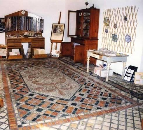 Pavimento in mosaico by il mosaico sas co di salem for Mosaico pavimento