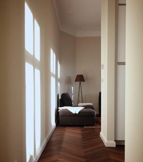 wohnung in berlin prenzlauer berg de stockwerk orange homify. Black Bedroom Furniture Sets. Home Design Ideas