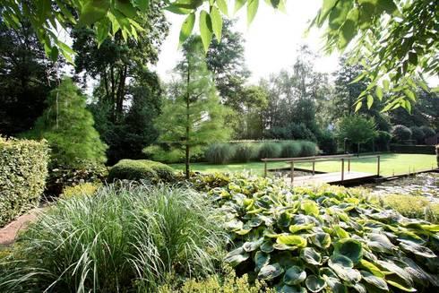 Landscape garden with ponds for koi landschappelijke tuin met vijvers voor koi von florera - Tuin landscaping fotos ...
