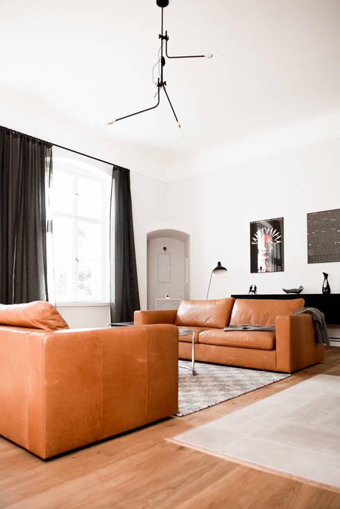 Wohnzimmer von Loft Kolasiński