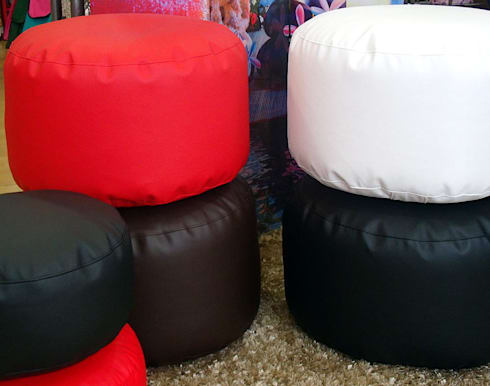 Puffs asiento redondo: Hogar de estilo  de latiendawapa