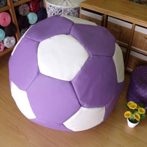 Puff blando balón de fútbol: Hogar de estilo  de latiendawapa