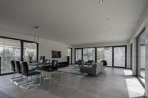 modern mit gewissem extra haus augstein von baumeister haus kooperation e v homify. Black Bedroom Furniture Sets. Home Design Ideas