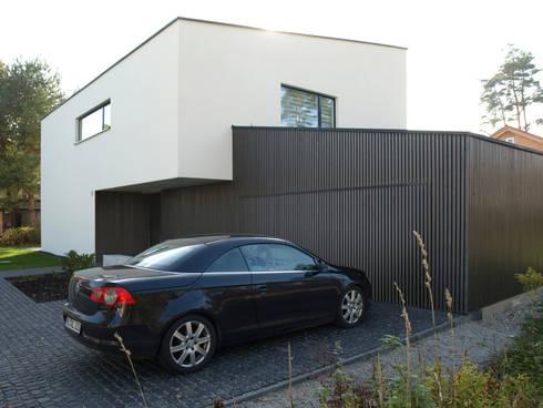einfamilienhaus mit pultdach von viktor filimonow architekt in m nchen homify. Black Bedroom Furniture Sets. Home Design Ideas