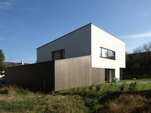 Architekt München Einfamilienhaus einfamilienhaus mit pultdach viktor filimonow architekt in