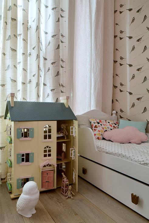 Ażur w Pastelach: styl , w kategorii Pokój dziecięcy zaprojektowany przez Pracownia Projektowa Poco Design