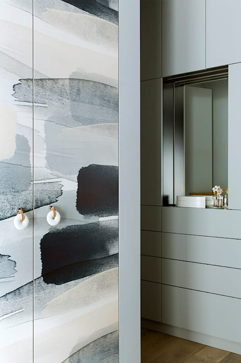 Ażur w Pastelach: styl , w kategorii Sypialnia zaprojektowany przez Pracownia Projektowa Poco Design