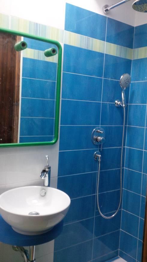 Progetto di n 2 bagni in appartamento roma via camillo - Come lucidare una vasca da bagno opaca ...