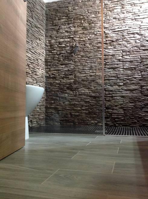 Wall decoration with petra by primiceri di rinnovareconlapietra com homify - Rivestimento cucina finta pietra ...