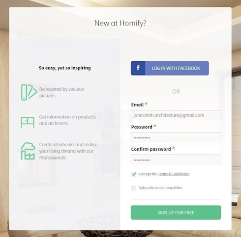 How do I create a professional profile on homify?:   by homify India