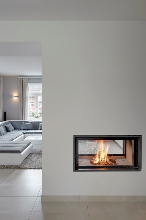 modern Living room by 28 Grad Architektur GmbH