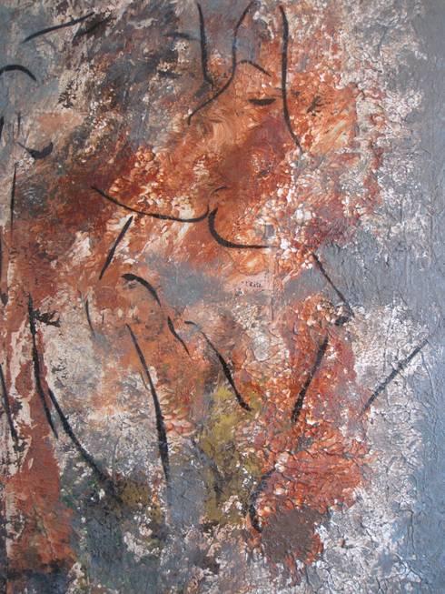 Twee vrouwen form. 800 x 1200 mm linnen VERKOCHT :  Kunst  door Grothausen BNI