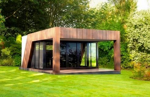 Luxury garden room gymnasium by the swift organisation ltd homify - Permis de construire veranda 20 m2 ...