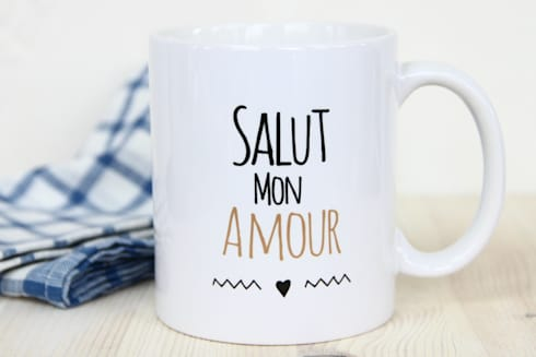 mug salut mon amour par so mug homify. Black Bedroom Furniture Sets. Home Design Ideas