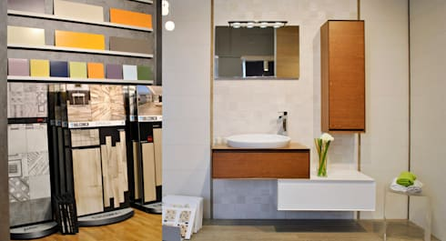 Progettazione interni – allestimento showroom arredobagno di ...