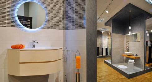 Progettazione interni u allestimento showroom arredobagno by