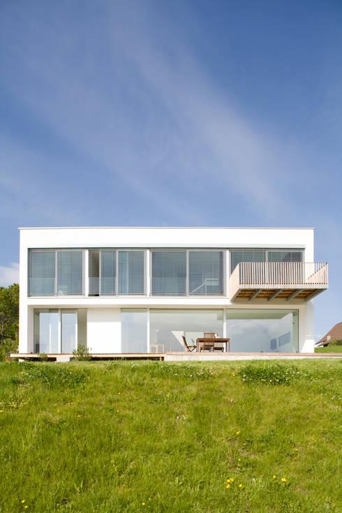 Süd:  Häuser von GMS Freie Architekten Isny / Friedrichshafen