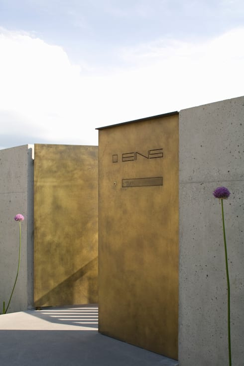 Hausnummer:  Häuser von GMS Freie Architekten Isny / Friedrichshafen