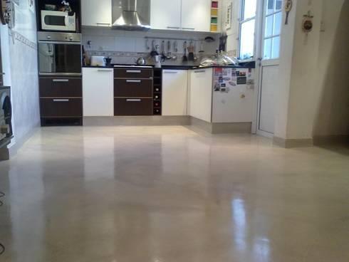 Microcemento tkrom de badacolor s l homify - Microcemento para cocinas ...