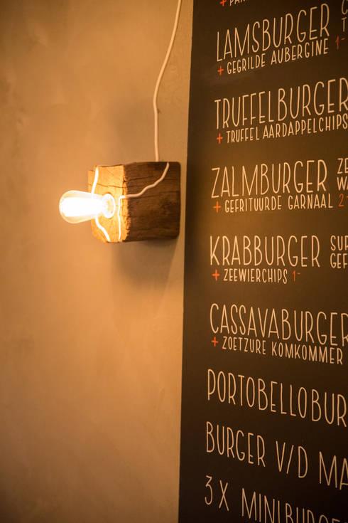 Interior Projects:  Gastronomie door Blom & Blom